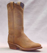 Men's 12 inch Dirty Brown Cowhide Abilene Steel Toe Boot 2104