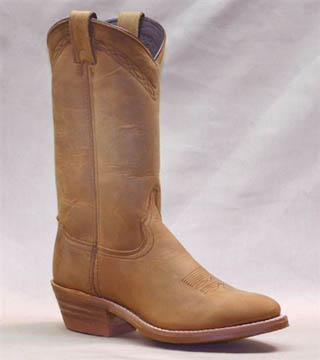 Men's 12 inch Dirty Brown Cowhide Abilene Boot 2104