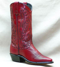Red Garment Cowhide Abilene Boot 9002